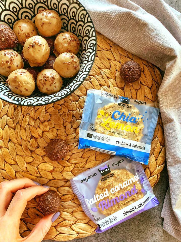 Енергийни бонбони на основата на Kookie Cat курабийки