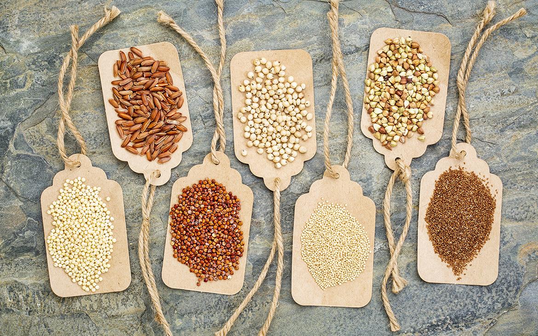 Безглутенови зърнени култури